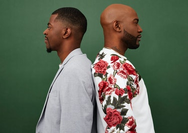 """Jason """"Rachel"""" Brown and Karamo Brown, who just published their first children's book, 'I Am Perfectly Designed.'"""