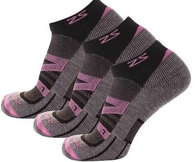 Zensah Wool Running Socks (3 Pairs)