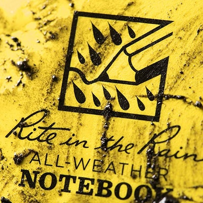 Rite in the Rain Weatherproof Top Spiral Notepad