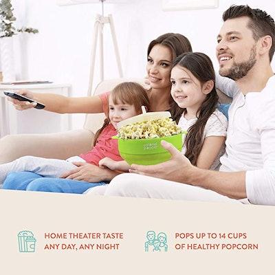 Colonel Popper Microwave Popcorn Popper Maker