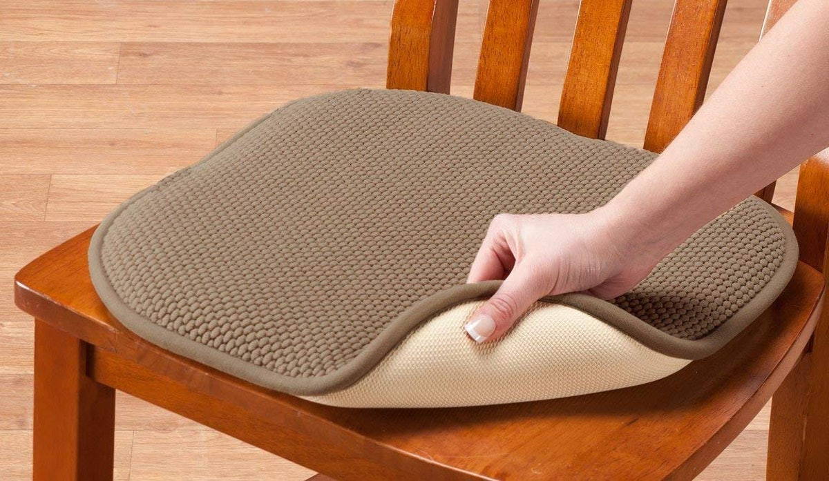 GoodGram Memory Foam Chair Pads (2-Pack)