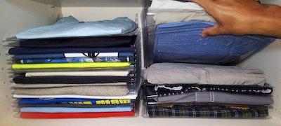 EZSTAX Clothing Organization System (Set Of 20)