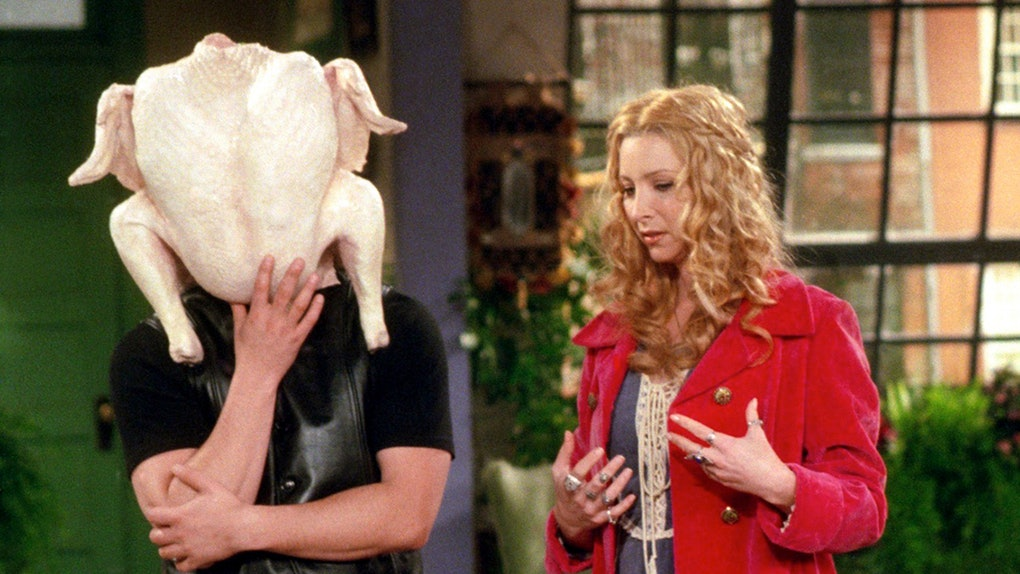 'Friends' Thanksgiving episode
