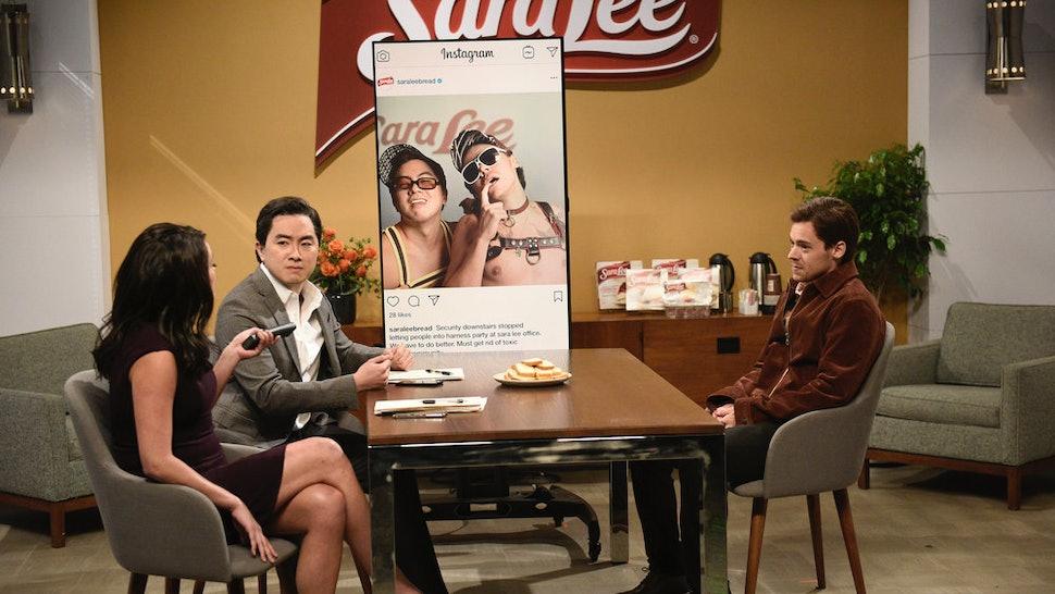 Harry Styles 'Saturday Night Live' Sara Lee sketch response