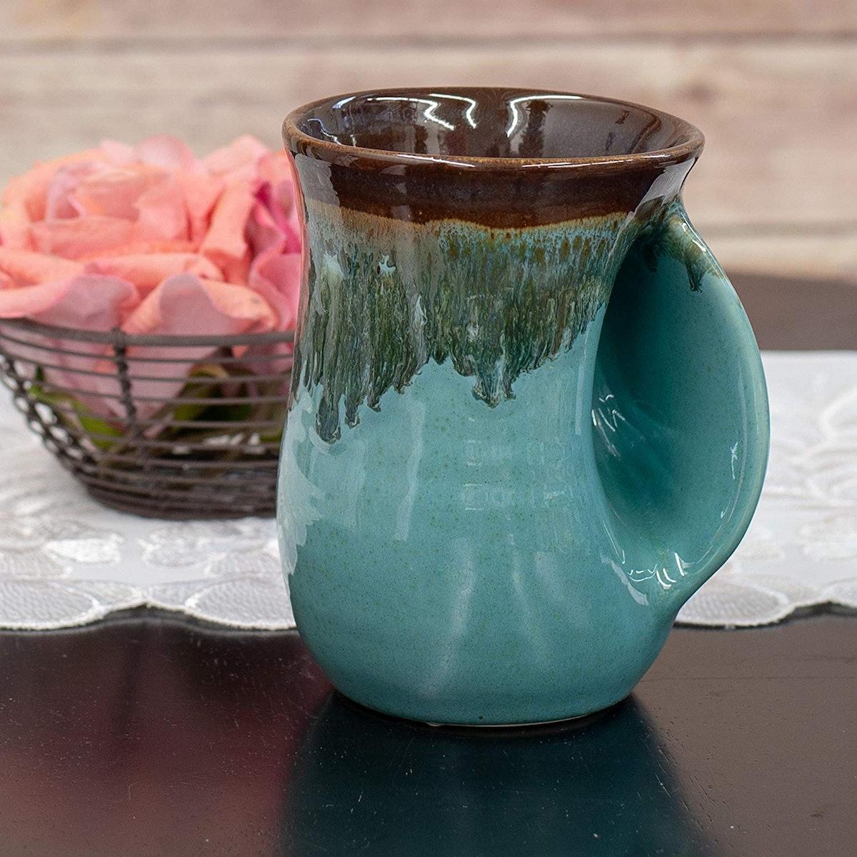 Made in Oregon Clay in Motion Handwarmer Mug