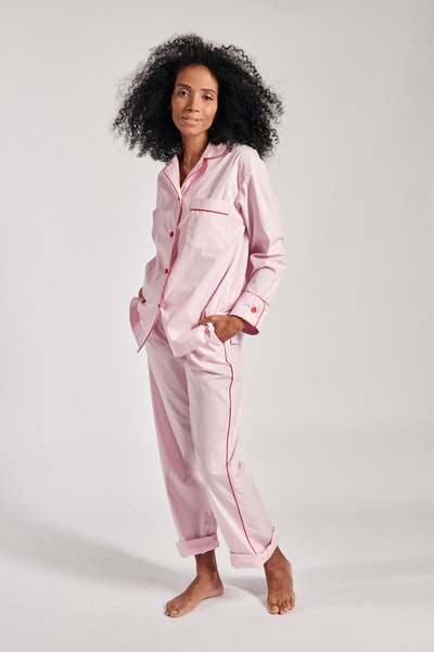 Donut Pink Pajama Set with Pants