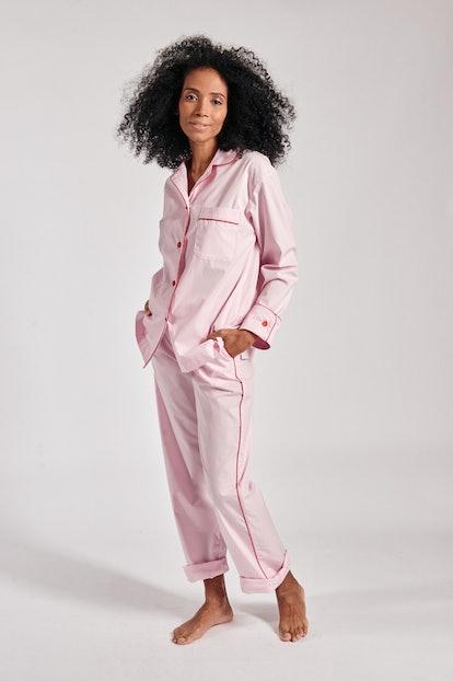 Donut Pink Pajama Set with Pants