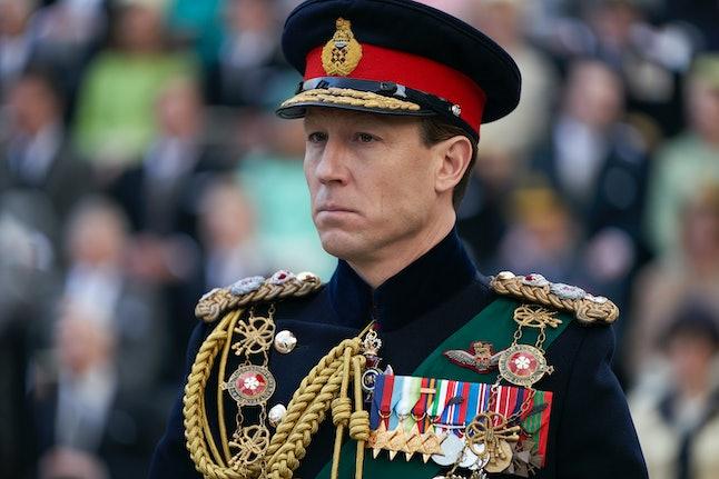 Tobias Menzies as Prince Philip in The Crown Season 3