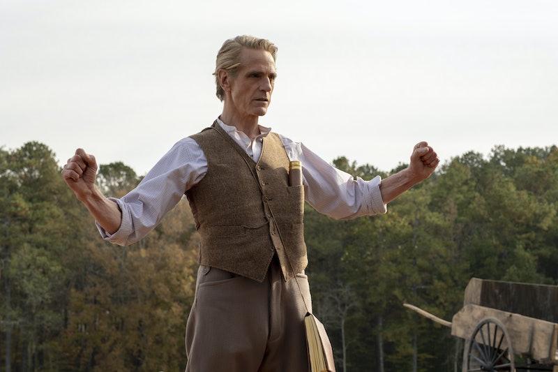 The Adrian Veidt in 'Watchmen' theories are pretty good.