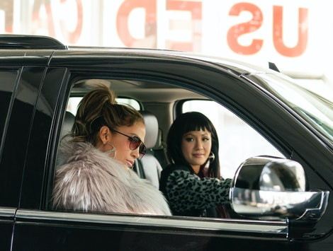 Jennifer Lopez and Constance Wu star in 'Hustlers'