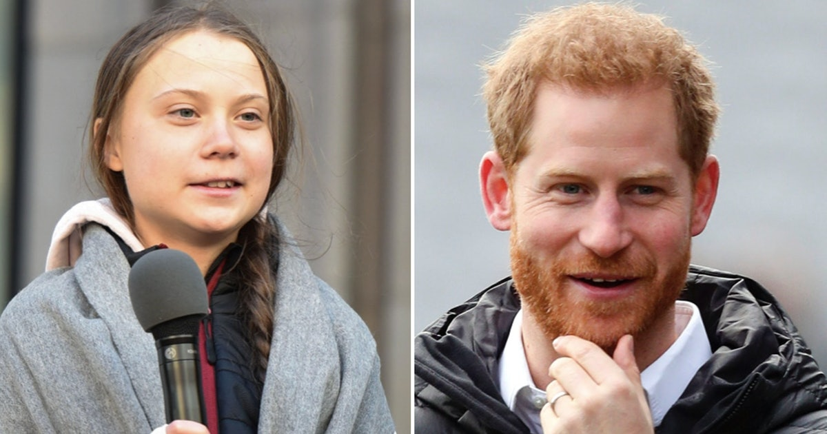 Prince Harry Praises Greta Thunberg's Climate Change Activism In Moving Speech