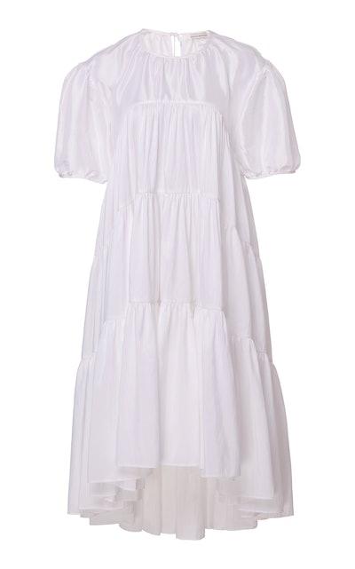 Esme Balloon Sleeve Midi Dress