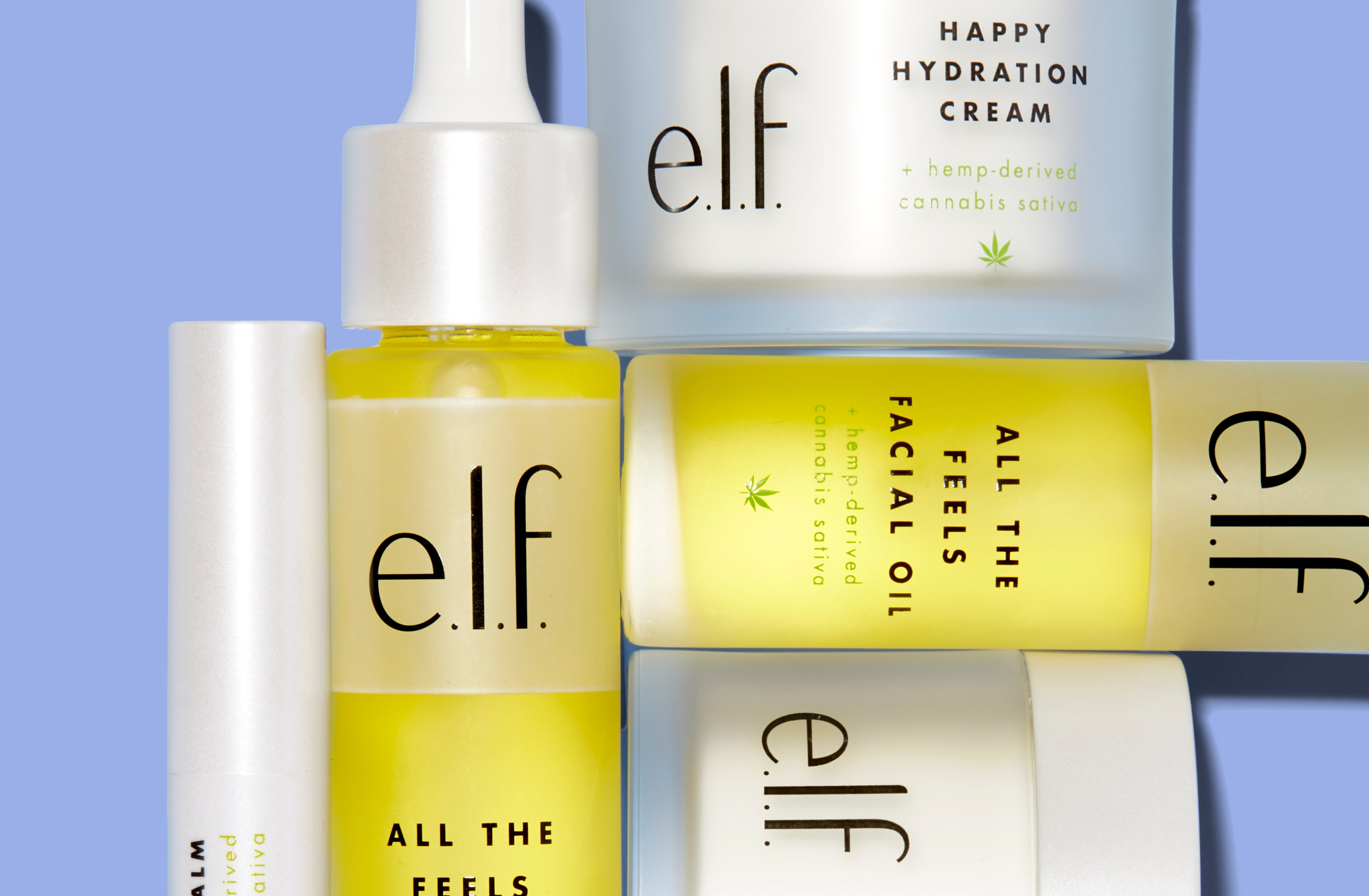 e.l.f. Cosmetics' Cannabis Sativa Collection Lets You Try The Trendy Ingredient At Drugstore Prices