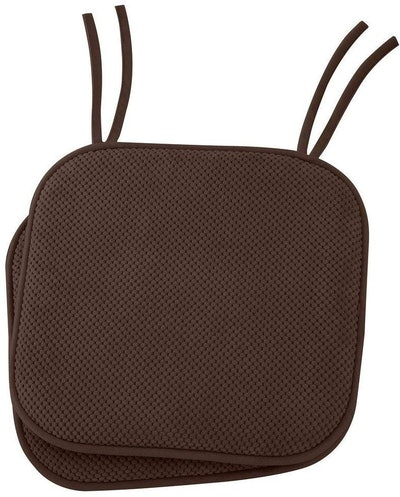 Ellington Home Non Slip Memory Foam Seat Cushion (Set Of 2)