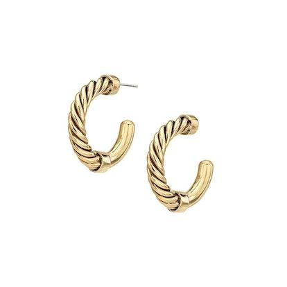 Uzi Mini Hoop Earrings