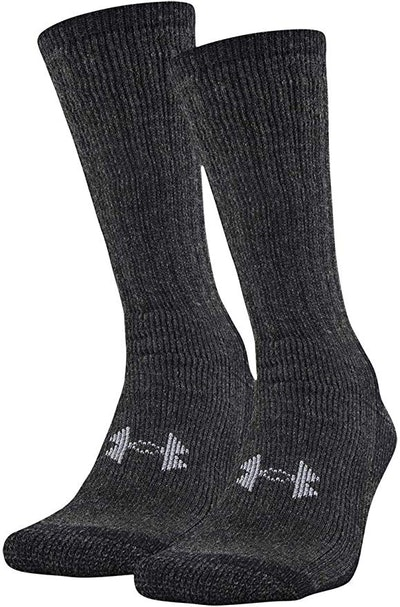 Under Armour Adult Coldgear Boot Socks (2 Pairs)