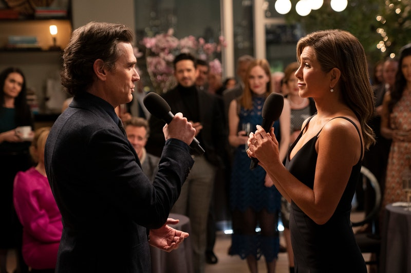 Billy Crudup and Jennifer Aniston in 'The Morning Show' from AppleTV+