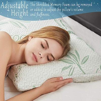 Mutlu Home Goods King Size Memory Foam Pillow
