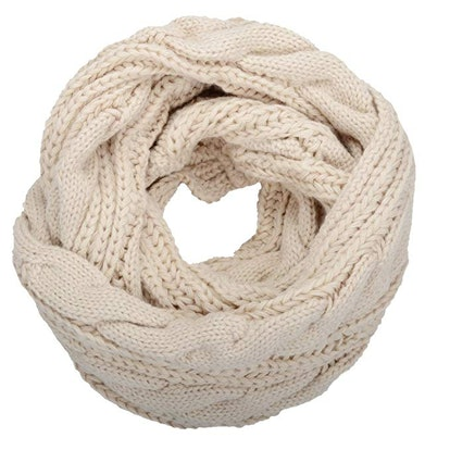 NEOSAN Ribbed Knit Infinity Scarf