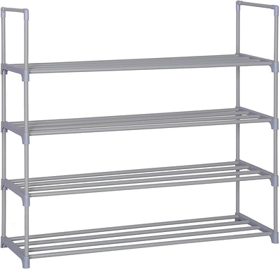 Homebi 4-Tier Shoe Metal Rack