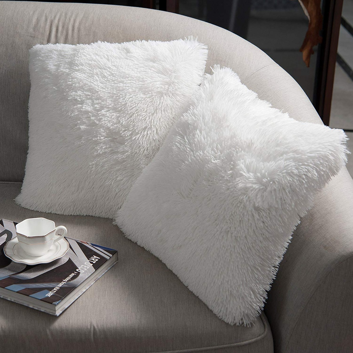NordECO Soft Throw Pillows Covers