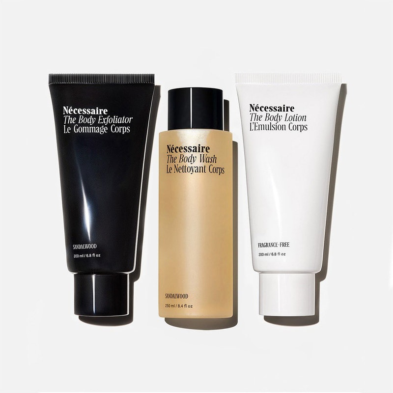 The beauty gifts TZR editors are hoping for include Nécessaire's Body Wash