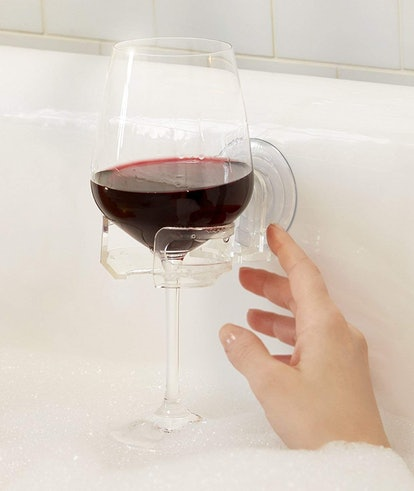 SipCaddy Suction Cup Wine Holder
