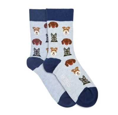 Dog All Over Sock