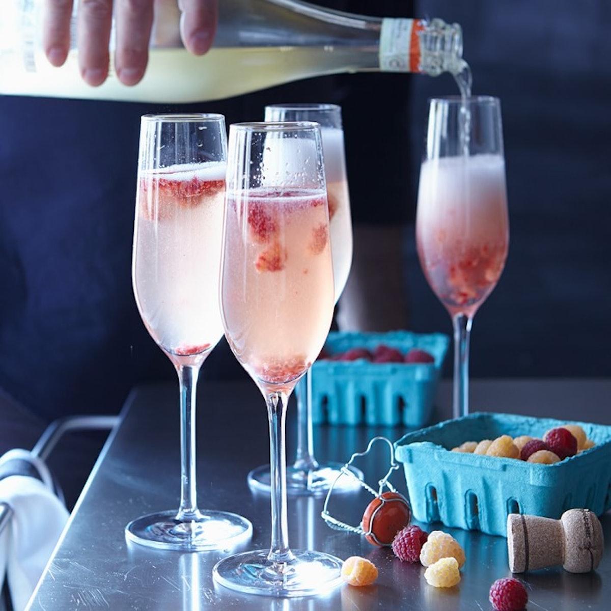 Williams Sonoma Open Kitchen Champagne Flutes, Set of 4