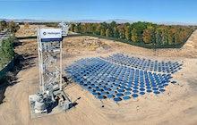 Heliogen solar energy field