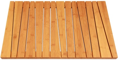 ToiletTree Products Natural Bamboo Bath Mat