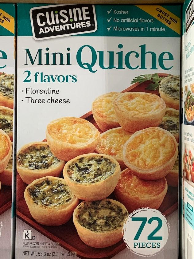 Cuisine Adventures Mini Quiche from costco