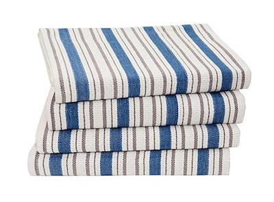 COTTON CRAFT Basket Weave Kitchen Towels (4-Pack)