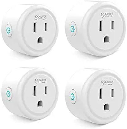 Gosund Smart Plug Mini Wifi Outlet (4-Pack)