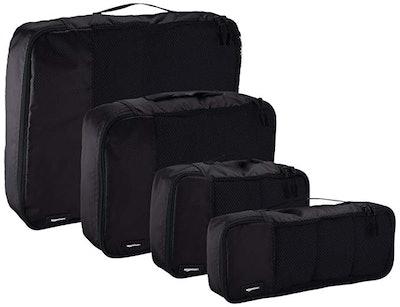 AmazonBasics Packing Travel Organizer Cubes Set (4 Pieces)