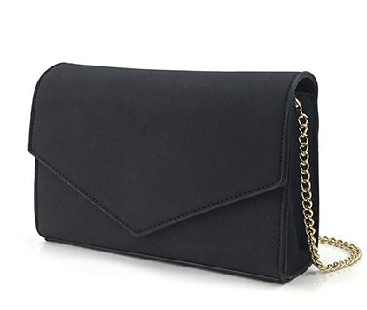 Hoxis Envelope Clutch/Shoulder Bag With Chain