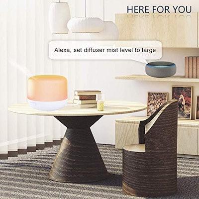 Birgus Smart Wifi Essential Oil Aromatherapy Diffuser