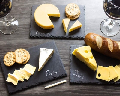 Juvale Mini Slate Cheese Boards (Set of 6)