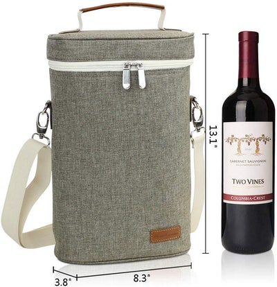 Home Innovation Insulated Wine Tote