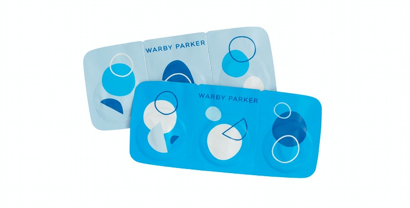 Warby Parker's new contact lenses, called Scout