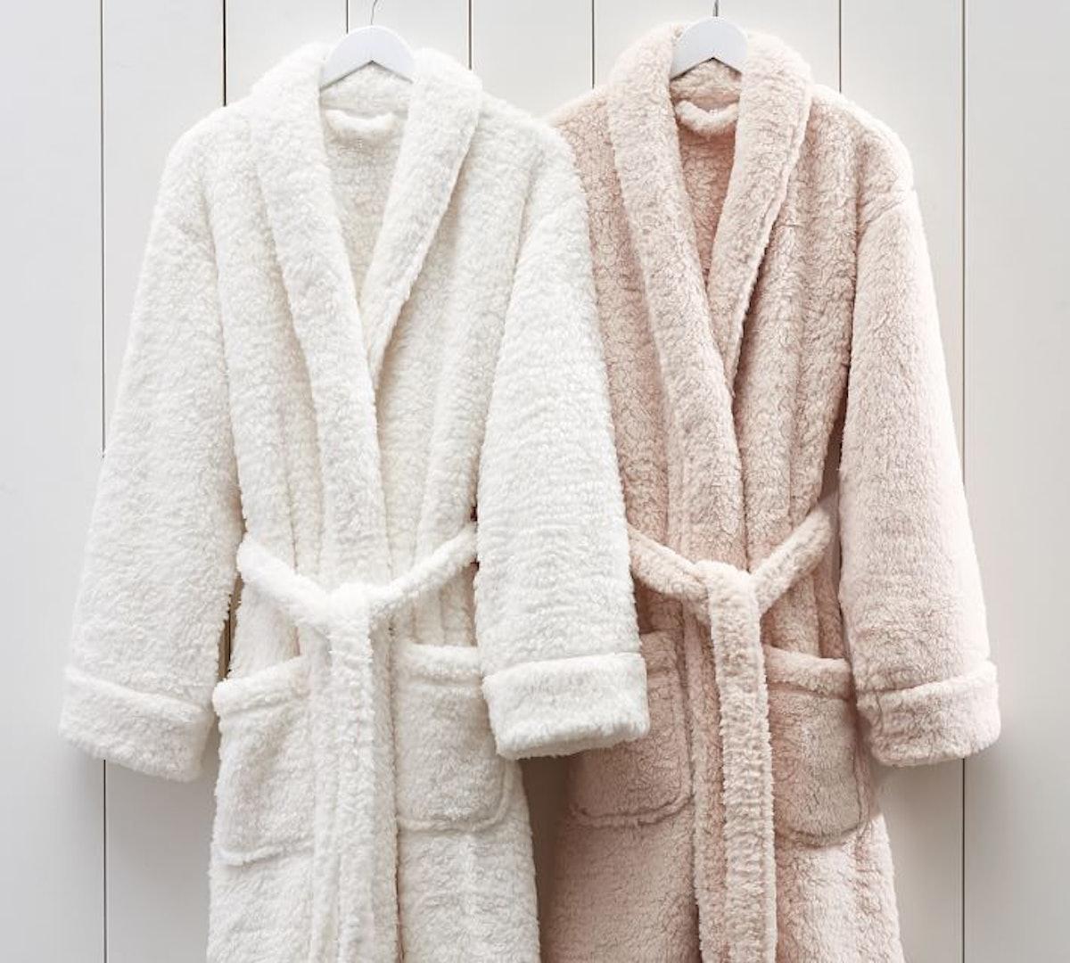 Teddy Bear Faux Fur Robe