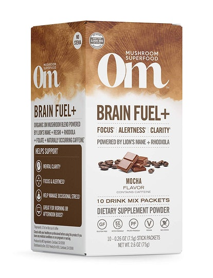 Om Organic Mushroom Nutrition Drink Sticks (10-Pack)