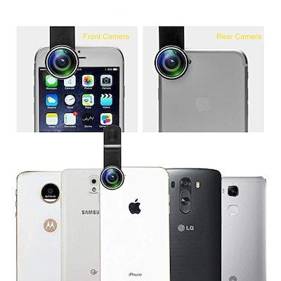 Mocalaca 11 in 1 Cell Phone Camera Lens Kit