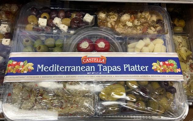 Castella Mediterranean Tapas Platter from costco