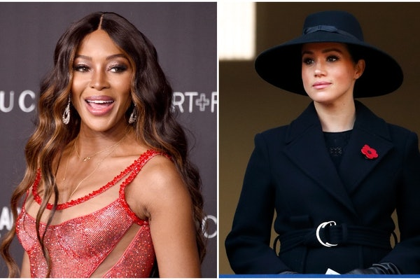 Naomi Campbell supported Meghan Markle in an interview.
