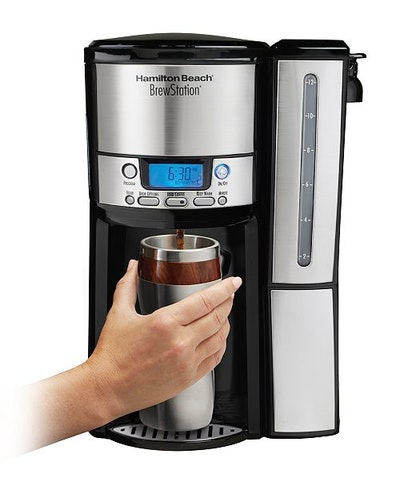 Hamilton Beach BrewStation 12-Cup Internal Storage Coffee Pot