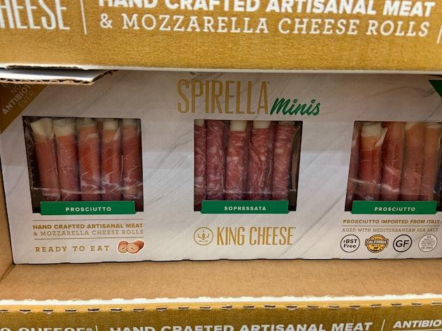 Spirella Minis Prosciutto Sopressata from costco