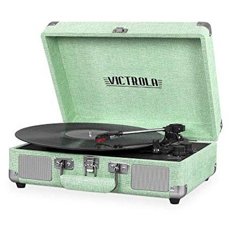 Victrola Bluetooth 3-Speed Suitcase Turntable