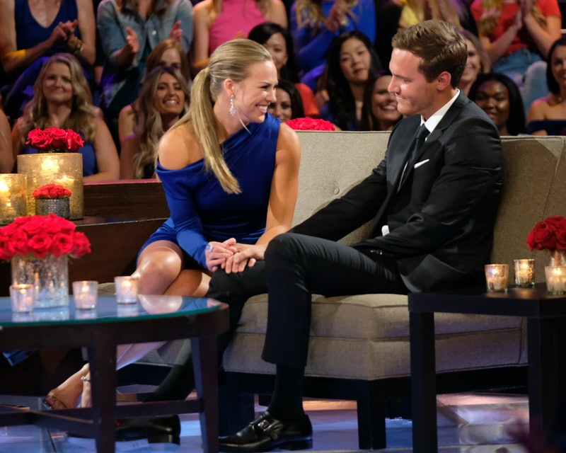 Hannah has advice for Peter about being the next Bachelor.
