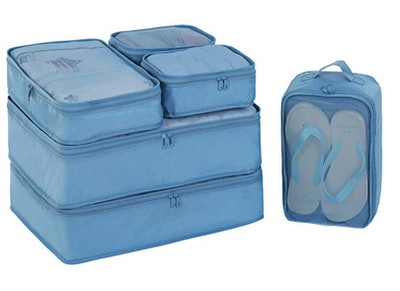 JJ POWER Travel Packing Cubes with Shoe Bag